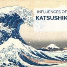 'AMOROUS' 好色 - ART PHOTO BOOK UPDATE: INFLUENCES OF HOKUSAI